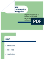 HIBE Hierarchical Identity Based Encryption