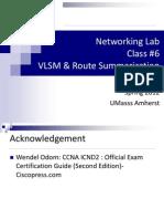 VLSM & Route Summarization.pdf