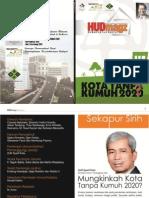 HUD Magazines Edisi 2 Tahun 2012. Kota Tanpa Kumuh 2020.