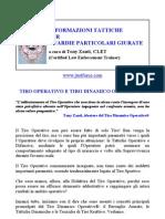 Tiro Operativo e Tiro Dinamico Operativo