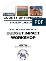 Budget Workshop Documents