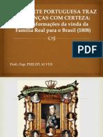 Palestra - Moda - Familia Real No Brasil