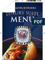 2013 JetHawks Suite Menu