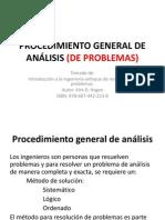 Procedimiento General de Analisis