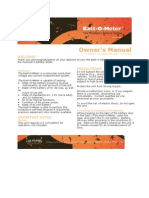 Batt O Meter User s Manual