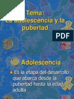 La Adolescenciaylapubertad