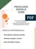 Psihologie Sociala Gavreliuc 7 Atractia Interpersonala