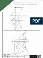 Diédrico Secciones y Poliedros