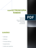 Seminário - ESPECTROSCOPIA RAMAN