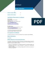 BMM690 Marketing Strategy 2011-12