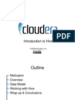 Hadoop Training #6: Introduction to Hive
