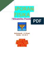 LAPORAN FISIKA Dinamika Fluida kel. II elvosfor, SMADA