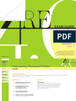 Programming, Planning & Practice Exam Guide - Architecure exam - NCARB
