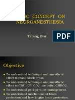 Basic Concept on Neuroanesthesia