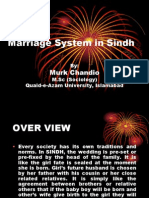 Marriage System in Sindh.ppt