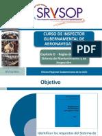17 - LAR 145 Capitulo D - reglas de Operacion - Sistema de mantenimient y de inspeccion.pdf