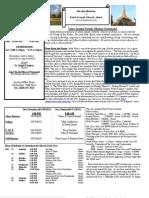 St. Joseph March 24, 2013 Bulletin