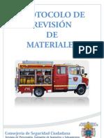 Protocolo de revisión de materiales