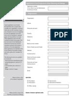 SFA ApplicationFormProgrammeUrbanPlanning English
