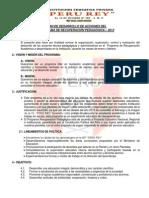 Plan de Desarrollo de Acciones Del Prp 2013