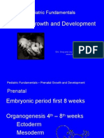 Peds Prenatal Growth and Development