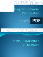 Diagnostico Social Participativoel Diagnostico de La Comunidad