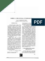 Sobre la melancolía en Hipócrates.pdf