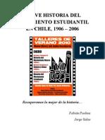 Breve Historia Del Movimiento Estudiantil en Chile