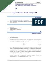 Guia de Practicas de Metodos Computacionales - Sesion 09 - 2012