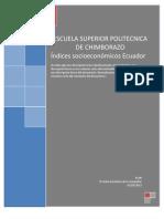 indices socioeconómicos