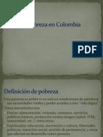 La Pobreza en Colombia