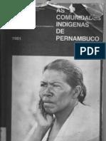As comunidades indígenas de pernambuco_condepe_1981