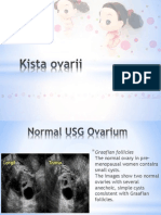 Kista Ovarii & Ginjal (USG&CTscan)