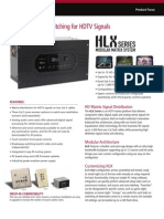 HLX Modular Matrix Focus Sheet