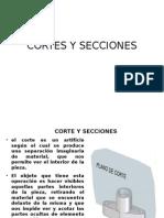 Corte y Secciones
