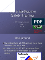 Fire Earthquake Safety Training