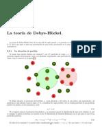 Teoria Debye Huckel