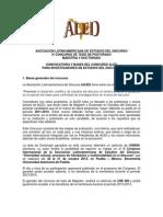Convocatoria Tesis 2013-1