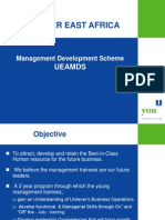 Management Trainee Program