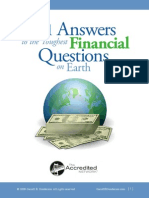 101 Financial Questions_Garrett Gunderson