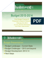 Schalmont School District Budget Presentation