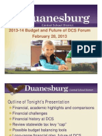 Duanesburg School District Budget Presentation