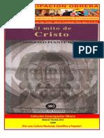 Libro No. 399. El Mito De Cristo. Puente Ojea, Gonzalo. Colección Emancipación Obrera. Marzo 30 de 2013