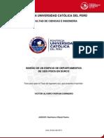 DISEÑO DE UNA EDIFICACION (Analisis Estructural)