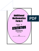 Statistics Version 2012