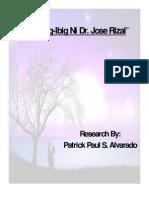 Mga Pag-Ibig Ni Dr. Jose Rizal