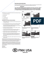 10-FNH-482 SCAR Tactical Fore-End Installation Instructions