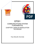 Chapter 2 EP301 - Communication System Fundamentals