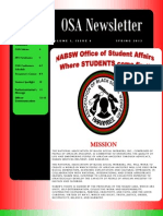 OSA Newsletter Spring2013