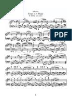 Schubert D664 Sonata a Major